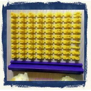 Forma din plastic - stantator A114