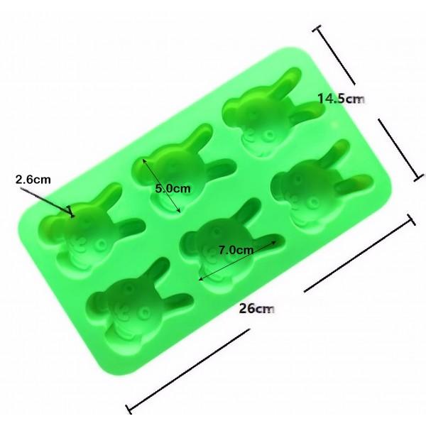 Forma din silicon B026